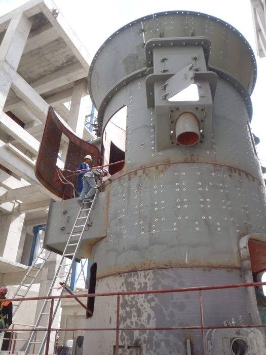 Dursteel Blindage anti-usure de silo cimenterie NSGI-T10-0075769