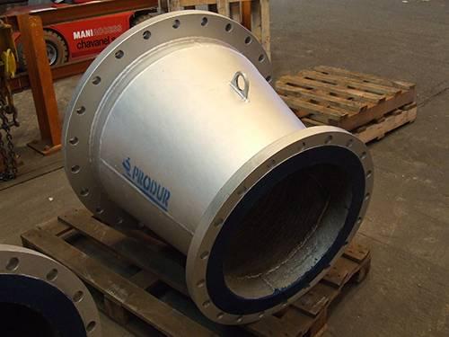 matériau anti-abrasion sidérurgie tuyauterie