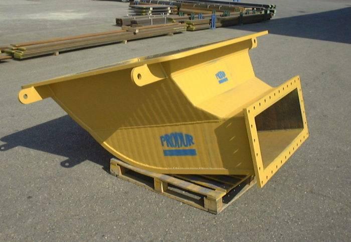 matériau anti-usure sidérurgie Duraplate Coude INBA