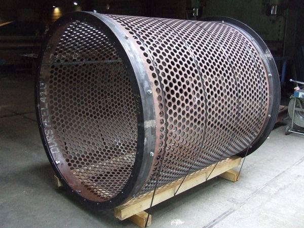 tamis rotatif anti-abrasion mines et carrières