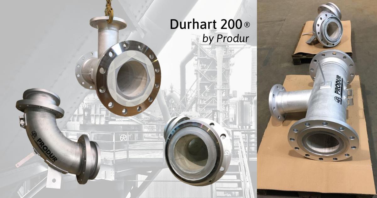 Fabrication d'un ensemble de tuyauterie anti-usure pour le secteur de la chimie